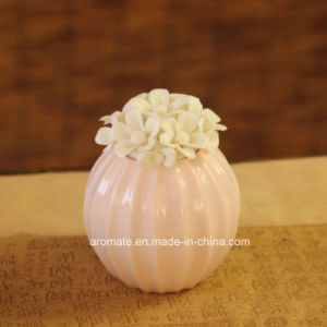 Decorative Ceramic Flower Aroma Reed Diffuser (CD-03)