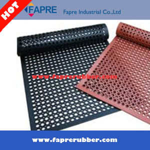 China Safety AntiFatigue Rubber Mesh Floor Mat For Grass Use - Rubber grate flooring