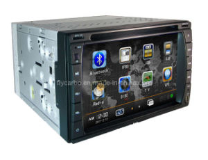 6.2 Inch 3D Screen 2-DIN High Definition Car DVD Player System with DVB-T and GPS Navigator (FLY-U-6203D)
