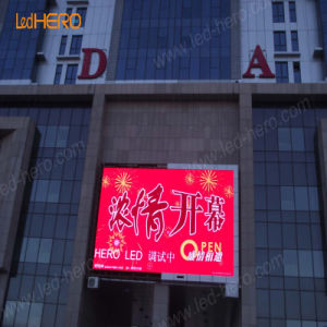 Outdoor Waterproof Video Program P10 LED Display for Advertising/Decoration/Lighting