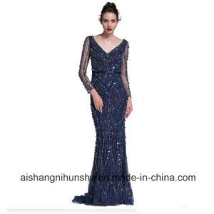 Blue Mermaid Gown