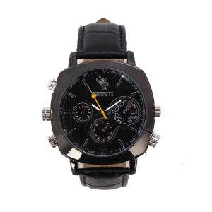 720p HD Camera Watch with Video Recorder 4GB-8GB (QT-H006)