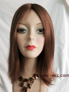 100% Virgin European Hair Silk Top Sheitels Kosher Wigs-10""