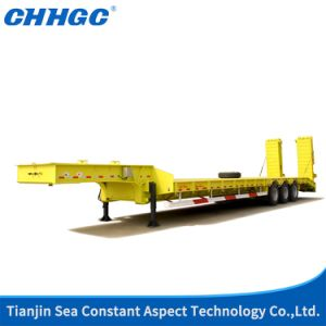 Hydraulic Flatbeded Semi Trailer 14
