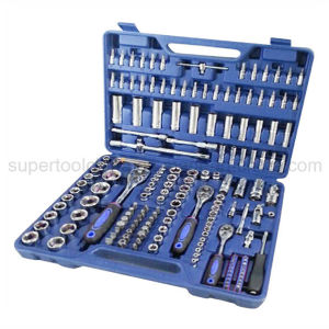 "Professional 171 PCS 1/2"", 3/8"" and 1/4"" Dr. Socket Set (100171) pictures & photos"
