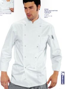 Custom Long Sleeve White Chef Uniform From Factory--Chef Jacket--Ptsh-CH01 pictures & photos