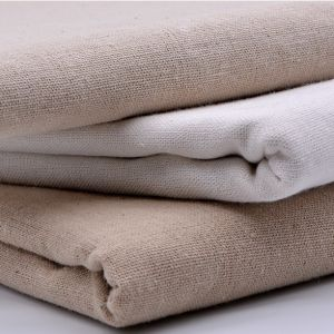 Woven Garment Linen Cotton Fabric for Shirt