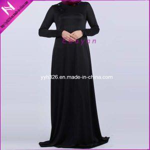 China Tunic Top Black Beige Abaya Jilbab Hijab