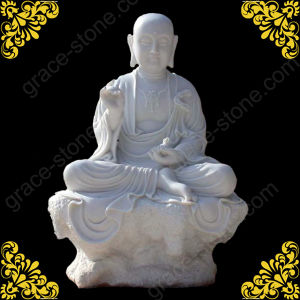 Hunan White Marble Buddha Statue pictures & photos