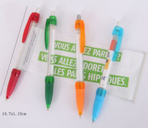 Hot-Selling Colorful Grip Banner Message Pen