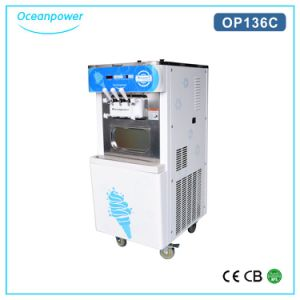 Commercial Soft Ice Cream Maker, 2 +1 Mixed Soft Ice Cream Machine (Oceanpower OP136C) pictures & photos