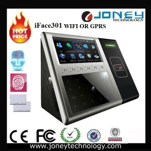 4.3′′ TFT Touch Keypad Biometric Face Fingerprint Time Attendance System Zksoftware Iface302 Attendance pictures & photos