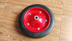 Wheelbarrow Solid Rubber Wheel 13X3