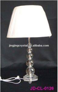 High Quality Moder Crystal Table Lamp for Hotel pictures & photos