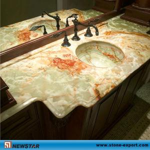 Green Onyx Bathroom Countertop