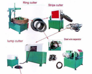 Tire Recycling Plant Bead Steel Wire Extracting Pulling Removing Machine pictures & photos