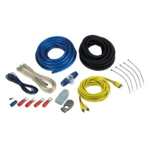 Planet Audio 4 Gauge AMP Installation Wiring Kit + RCA on