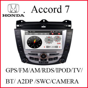 Special Car Radio Player for Honda Accord 7 with Rear View Camera (K-916)