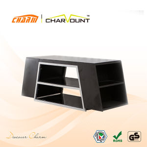 High Quality MDF Extension TV Stand Home Furniture Design (CT-FTVS-D102) pictures & photos