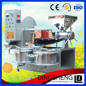 Screw Oil Materials Extruding Oil Machine with Vacuum Filter pictures & photos