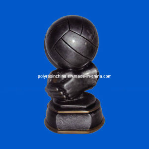 Polyresin Rugby Trophy Statue Decoration pictures & photos