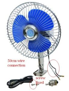 6 Inch 60 Strips Semi Seal Car Fan (WIN-112) pictures & photos