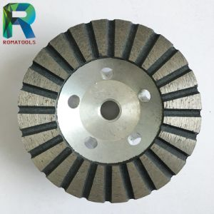 "4"" Diameter Aluminium Diamond Cup Wheels for Granite/Marble/Stone Grinding"