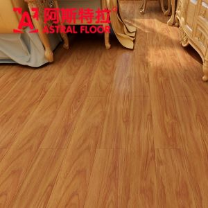 CE Approved HDF German Technology Silk Surface Laminate Flooring (AD1136) pictures & photos
