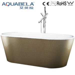 European Style Pure Freestanding Hot Tub Sanitary Ware (JL607) pictures & photos