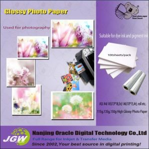115GSM-260GSM High Glossy Photo Paper (KF)