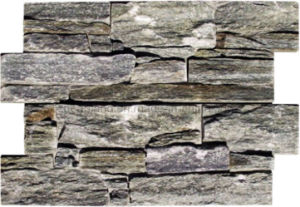 Antacid Grey Slate Erosion Resistance Quartzite Exterior Wall Culture Stone pictures & photos