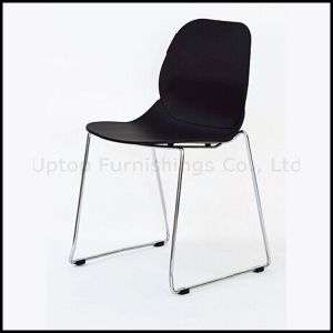 Hot Sale Sled Base Food Court Plastic Chair Wholesale (SP-UC506) pictures & photos