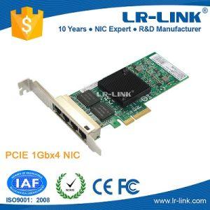 China Intel I350 Chipset Pcie X4 Quad Port 4 Port LAN Card Intel
