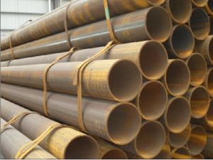 Qingdao Sangao ERW Steel Pipe for Fluid Transportation or Structure