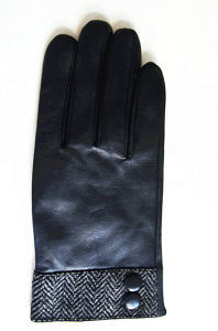 Men′s Fashion Leather Gloves (JYG-24096) pictures & photos