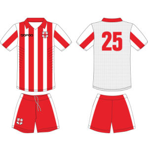 Customized Team Sublimated Soccer Uniform for Men pictures & photos