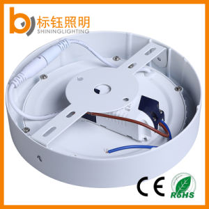 Surface Wholesale Factory 12W Round LED Panel AC85-265V Ceiling Downlight pictures & photos