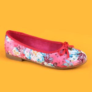 China Toddler Girls Pink Flats Pumps Kids Shoes with Bowknot - China ... 3f3b0e7c8