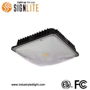 Dimmable Ceiling Petro Station Light 45W LED Canopy Light ETL FCC Approval Garage Light Fittings pictures & photos