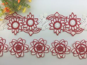 New Design High Quality Fashion Multicolor Embroidery Lace pictures & photos