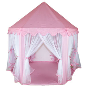 reputable site 6c6c4 2a0a8 Large Indoor and Outdoor Kids Play House Hexagon Princess Castle Kids Play  Tent Child Play Tent, Various Colors