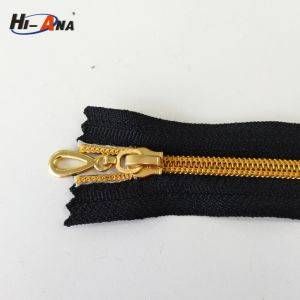 Using Eco-Friendly Materials High Quality Jeans Zipper pictures & photos