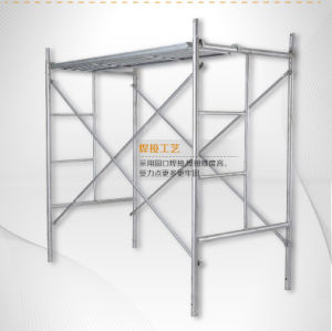 Galvanized Traditional Construction Scaffolding Mason H Frame Scaffolding for Sale