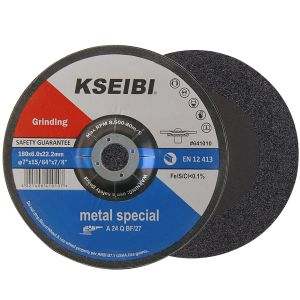 Kseibi Metal Stainless Steel Inox Grinding Disc Depressed Center Grind Wheel pictures & photos