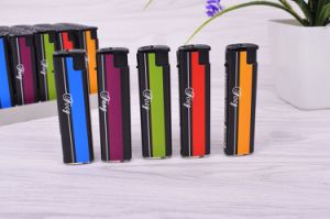 Good Quality Refillable Wind Proof E-Lighter for Cigarette Usage with Customized Wrapper