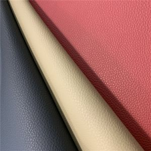 OEM Modern Factory Glitter Shiny Faux Leather Synthetic PU Leather Multi Rainbow Color
