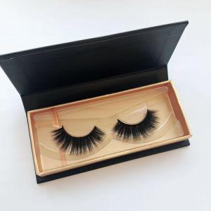Silk Eyelashes Vendor Private Label 5D Faux Mink Eyelashes