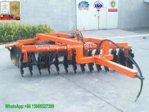 Best Sales Hydraulic Disc Harrow with Bearing Combination for 100HP Yto Tractor pictures & photos