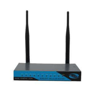 Replaceable Antenna WiFi VPN Industrial 4G Lte Router with SIM