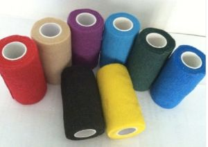 Surgical Dressing Nonwoven Cohesive Bandages pictures & photos